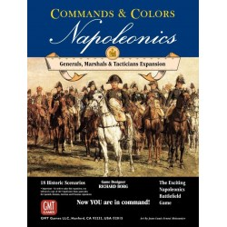 Commands & Colors: Napoleonics Expansion #5 Generals, Marshals, Tacticians - разширение за настолна игра