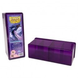 Dragon Shield Four Compartment box (лилава) - кутия за карти в Кутии за карти