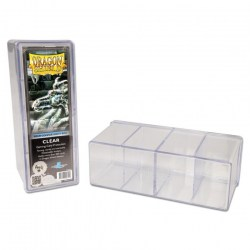 Dragon Shield Four Compartment box (clear) in Deck boxes