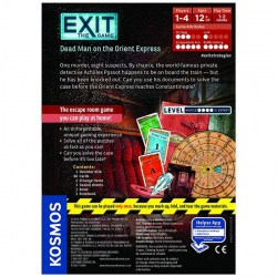 Exit: The Game – Dead Man on the Orient Express (2017) Board Game
