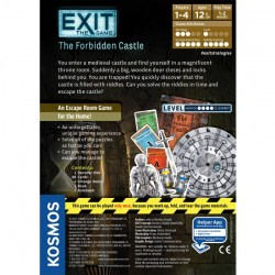 "Exit: The Game - The Forbidden Castle (2017) - ""escape room"" настолна игра"