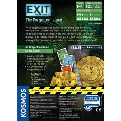 Exit: The Game - The Forgotten Island (2017) Board Game