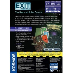 Exit: The Game – The Haunted Roller Coaster (2019) Board Game