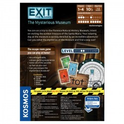 "Exit: The Game – The Mysterious Museum (2018)  - ""escape room"" настолна игра"