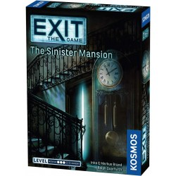 Exit: The Game - The Sinister Mansion (2018) Board Game