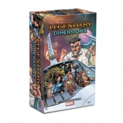Legendary: A Marvel Deck Building Game - Dimensions Expansion (2019)