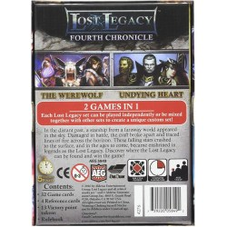 Lost Legacy: Fourth Chronicle – The Werewolf & Undying Heart (2016) - настолна игра с карти