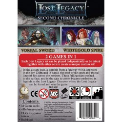 Lost Legacy: Second Chronicle – Vorpal Sword & Whitegold Spire (2015) - настолна игра с карти