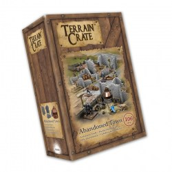 Mantic Games: Terrain Crate - Abandoned Town in Terrain for games