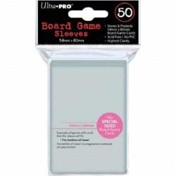 Протектори за карти Ultra Pro Clear Special Size Board Game Premium Sleeves - 54x80мм (50 броя плътни, прозрачни)