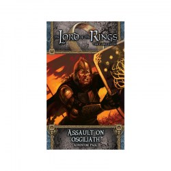The Lord of the Rings LCG: Against the Shadow Cycle - Assault on Osgiliath Adventure Pack Board Game