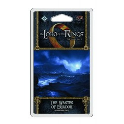 The Lord of the Rings LCG: Angmar Awakened Cycle - The Wastes of Eriador Adventure Pack Board Game