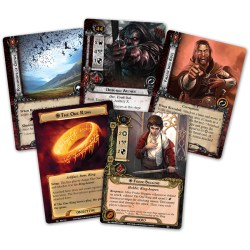 The Lord of the Rings: The Card Game - The Road Darkens Deluxe Expansion (2014) Board Game