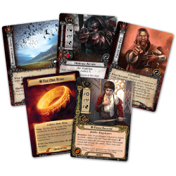 The Lord of the Rings: The Card Game - The Road Darkens Deluxe Expansion (2014) - разширение за настолна игра