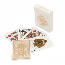 Theory 11 Artisan Playing Card Deck - White in Playing cards