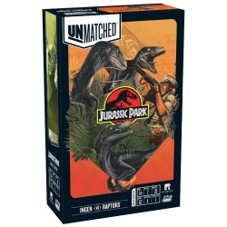 Unmatched: Jurassic Park – InGen vs Raptors (2020) Board Game