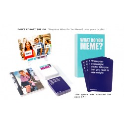 What Do You Meme?: A Millennial Card Game For Millennials And Their Millennial Friends (2016) - парти настолна игра