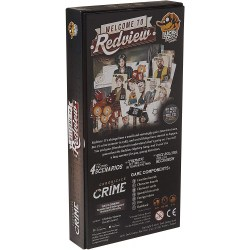 Chronicles of Crime: Welcome to Redview Expansion (2018) Board Game