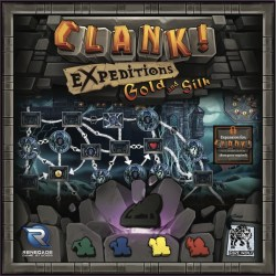 Clank! Expeditions: Gold and Silk Expansion (2018) - разширение за настолна игра