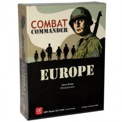 Combat Commander: Europe ‐ English first edition, fourth printing (2018) - военна настолна игра