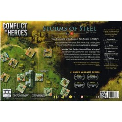 Conflict of Heroes: Storms of Steel - Kursk 1943 (Third Edition, 2019) - настолна игра