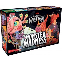 D&D Dungeon Mayhem Card Game: Monster Madness (2020) - настолна игра