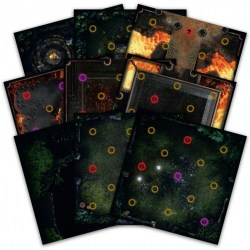 Dark Souls: The Board Game - Expansion Sets - Darkroot Basin and Iron Keep Tile Set Expansion