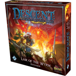 Descent: Journeys in the Dark (Second Edition) - Lair of the Wyrm Expansion (2012) - разширение за настолна игра
