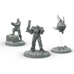 Fallout: Wasteland Warfare - Brotherhood of Steel Cade & Danse Box