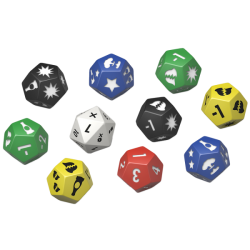 Fallout: Wasteland Warfare - Extra Dice Set in Fallout: Wasteland Warfare