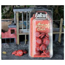 Fallout: Wasteland Warfare - Nuka Cola Caps Set in Fallout: Wasteland Warfare