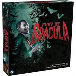 Fury of Dracula 4th Edition Board Game