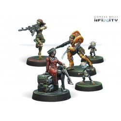 Infinity: Dire Foes - Defiant Truth Mission Pack in Yu Jing