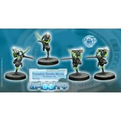 Infinity Non-Aligned Armies - Oniwaban Shinobu Kitsune (Monofilament CCW) в Infinity: The Game