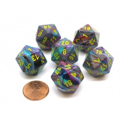 Комплект D&D зарове: Chessex Festive Mosaic & Yellow в Зарове за игри