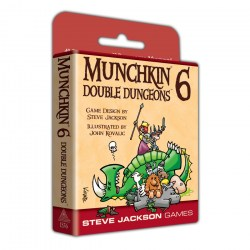 Munchkin 6: Double Dungeons (Expanded Edition, 2019) Board Game