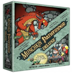 Munchkin Pathfinder Deluxe ‐ English second edition (2014) Board Game