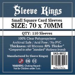 Протектори за карти Sleeve Kings Small Square Card Sleeves (70x70mm) 110 Pack, 60 Microns в Други размери