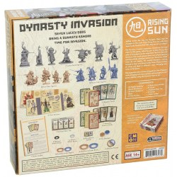 Rising Sun: Dynasty Invasion Expansion Board Game