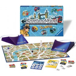 Scotland Yard Junior (2014) - настолна игра