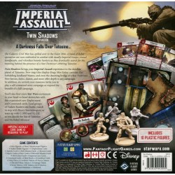 Star Wars: Imperial Assault - Twin Shadows Expansion - разширение за настолна игра Star Wars: Imperial Assault