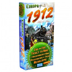 Ticket to Ride: Europe - Europa 1912 Expansion (2009) - разширение за настолна игра Ticket to Ride: Europe