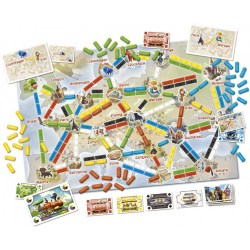 Ticket to Ride: First Journey (Europe) (2017) - настолна игра