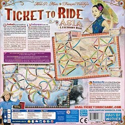 Ticket to Ride Map Collection: Volume 1 – Team Asia & Legendary Asia (2011) - разширение за настолна игра