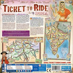 Ticket to Ride Map Collection: Volume 2 – India & Switzerland (2011) - разширение за настолна игра