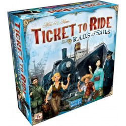 Ticket to Ride: Rails & Sails (2016) - настолна игра