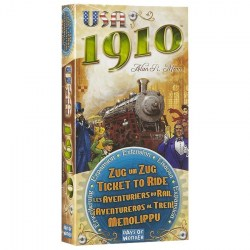 Ticket to Ride - USA 1910 Expansion (2006) - разширение за настолна игра Ticket to Ride