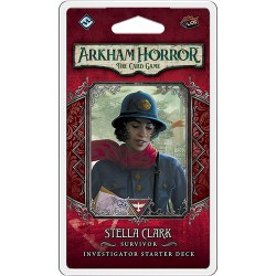 Arkham Horror: The Card Game - Stella Clark Investigator Starter Deck Board Game