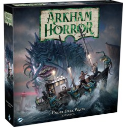Arkham Horror: Third Edition - Under Dark Waves Expansion (2019) - разширение за настолна игра
