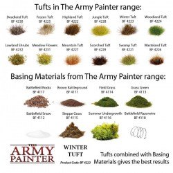 Army Painter - Battlefields Basing Set in Brushes, paints and more